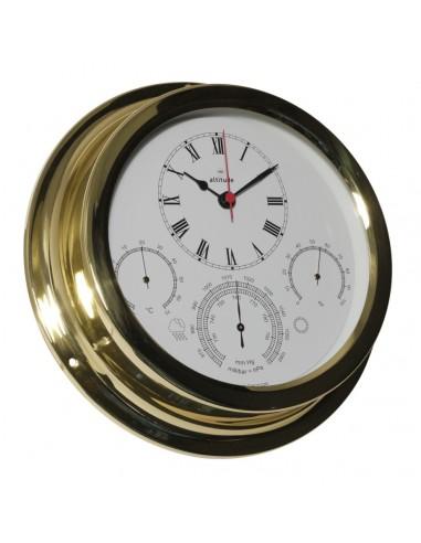 Quartz Klok / Barometer / Thermometer / Hygrometer - 224 mm - Altitude - Scheepsinstrumenten - 880 C-BTH - €175,00