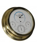 Getijdenklok / Barometer / Thermometer / Hygrometer - 224 mm