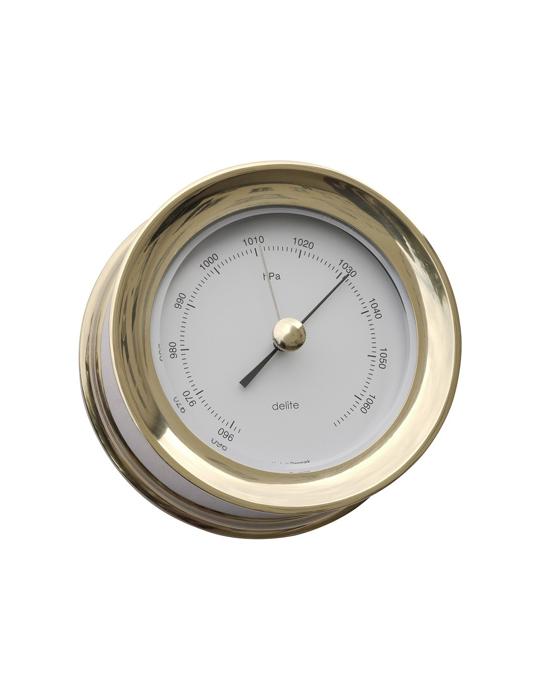 Zealand Barometer - Messing - 110 mm - Delite - Scheepsinstrumenten - 630150