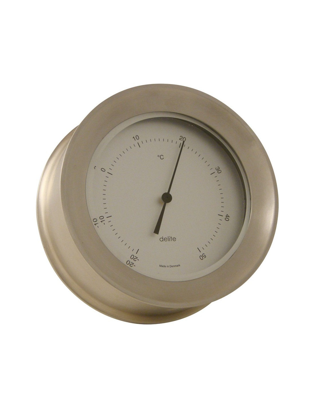 Zealand Thermometer - Mat RVS - 110 mm