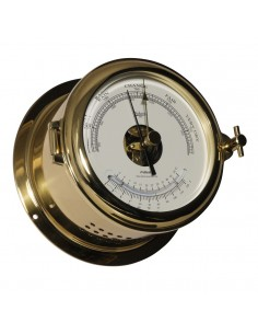 Fyrkat 140 - Barometer / Thermometer - Messing