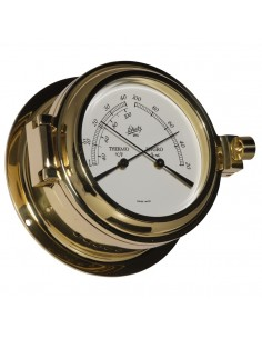 Fyrkat 140 - Thermometer / Hygrometer - Messing