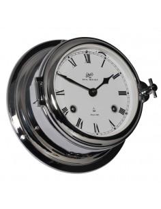 Royal 180 - Mechanische Klok - Glazen Slaand - Romeins - Verchroomd