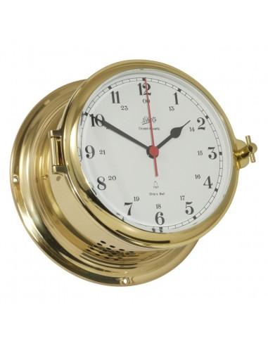 Royal 180 - Quartz Klok - Glazen Slaand - Arabisch - Messing - Schatz 1881 - Scheepsinstrumenten - 480 CSA - €445,00