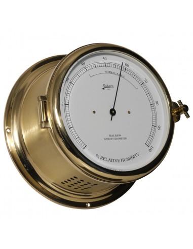 Royal 180 - Haarhygrometer - Mat Messing - Schatz 1881 - Scheepsinstrumenten - 481 H - €305,00