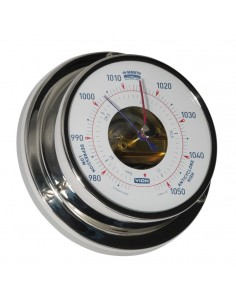 Barometer - Glanzend RVS - 97 mm