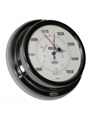Barometer - Titanium Gekleurd - 129 mm - VION - Scheepsinstrumenten - A103 B - €99,00