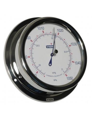 Barometer - Glanzend RVS - 150 mm - VION - Scheepsinstrumenten - A130 B - €99,00