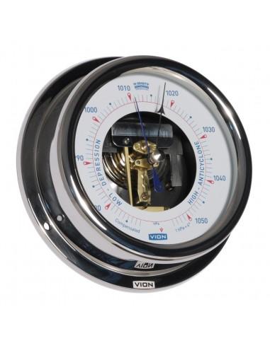 Barometer - Open Versie - Glanzend RVS - 150 mm - VION - Scheepsinstrumenten - A130 BO - €155,00