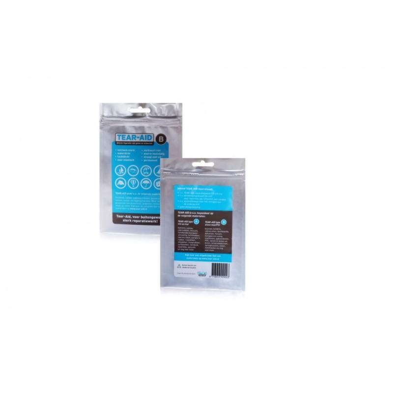 Tear-Aid - Reparatieset B - Transparant - Voor Vinyl / PVC - 76 x 300 mm - Tear-Aid - Reparatie - 020011B - €13,20