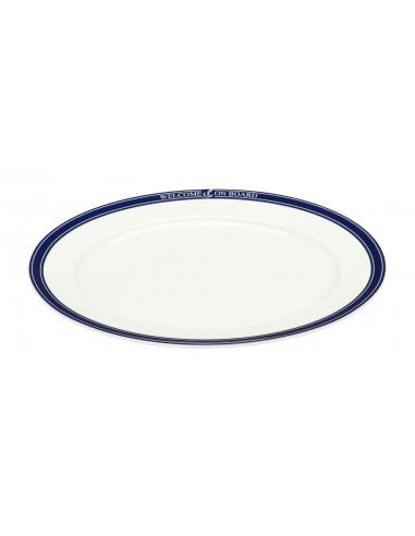 Vleesschaal - Ovaal - 32 cm - Welcome On Board - Scheepsserviesgoed - 10019815 - €27,00