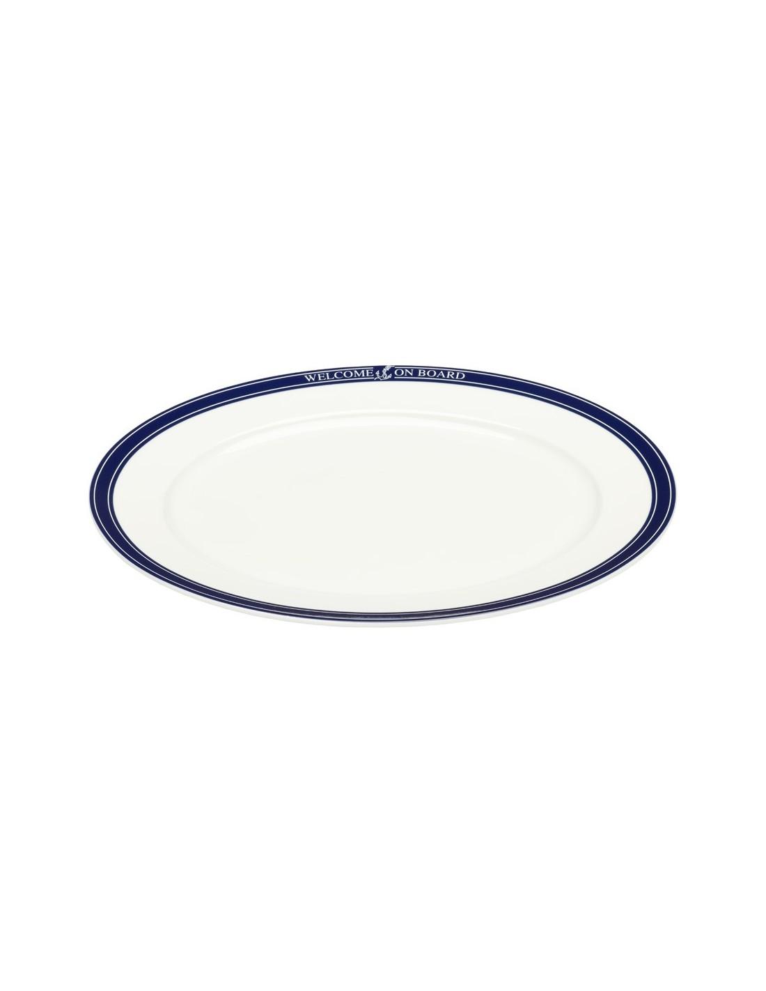 Vleesschaal - Ovaal - 32 cm - Welcome On Board - Scheepsserviesgoed - 10019815