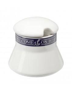 Suikerpot Met Deksel - Welcome On Board - Scheepsserviesgoed - 10019817 - €13,80