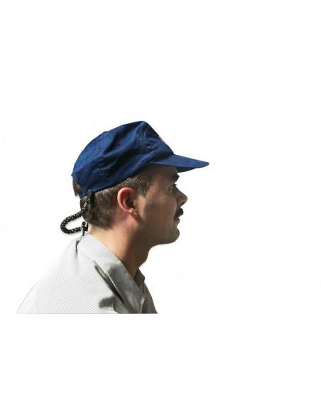 <p>Deze handige gadget zorgt ervoor dat je cap of andere hoofddeksels niet meer wegwaaien aan boord. Deze gebruik je dooréén klemmetje aan je kleding te bevestigen en<strong></strong>één aan je cap of hoed.</p>