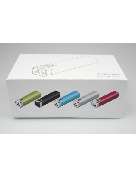 PowerBank 2600 mAh - Mobiele Oplader - Blauw - The Captain's Collection - Nautische Accessoires - PB2600BL - € 19,00