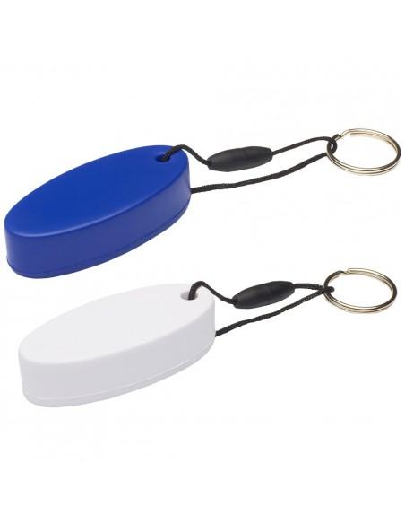 <p>Drijvende foam sleutelhangers van het bekende merk The Captain's Collection. Deze blijft drijven voor als je jou sleutels in het water laat vallen en ze hebben een draagvermogen van 30 gram per stuk. Ze worden per 10 stuks geleverd. <br /><strong>Kleur:</strong> wit / blauw</p>